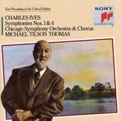 Ives: Symphonies Nos. 1 & 4 von Michael Tilson Thomas, Chicago Symphony Orchestra, Chicago Symphony Chorus