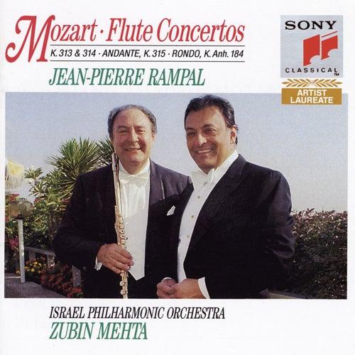 Mozart: Flute Concertos, K. 313 & 314 by Jean-Pierre Rampal