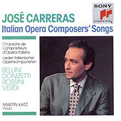 Italian Operas Composers' Songs by José Carreras