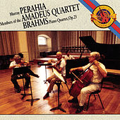 Brahms:  Quartet for Piano and Strings in G Minor, Op. 25 by Members of the Amadeus Quartet: