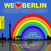 We Love Berlin 7.1 - Minimal Techno Parade (DJ Mix By Glanz & Ledwa) von Various Artists
