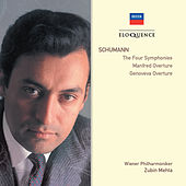 Schumann: The Four Symphonies; Manfred Overture; Genoveva Overture by Wiener Philharmoniker