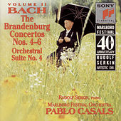 Bach: Brandenburg Concerti Nos. 4-6 & Orchestral Suite No. 4 von Marlboro Recording Society