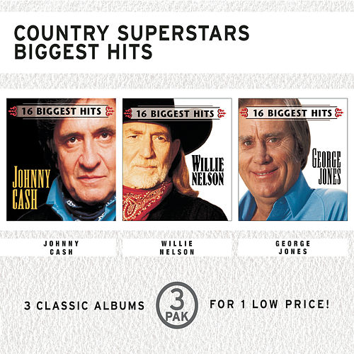 Country Superstars Biggest Hits by Various Artists
