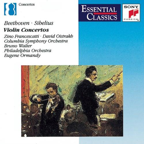 Beethoven, Sibelius: Violin Concertos by Various Artists