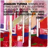 Joaquín Tuina: Serenata, Op. 87 / String Quartet, Op. 4,