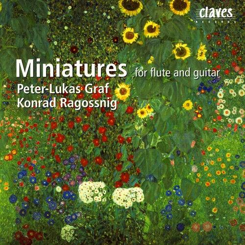 Miniatures For Flute & Guitar by Konrad Ragossnig