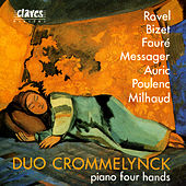 French Masterpieces For Piano Four Hands by Various Artists