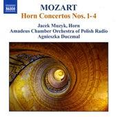 MOZART: Horn Concertos Nos. 1-4 by Jacek Muzyk