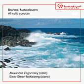 Brahms, Mendelssohn. All cello sonatas de Einar Steen-Nokleberg