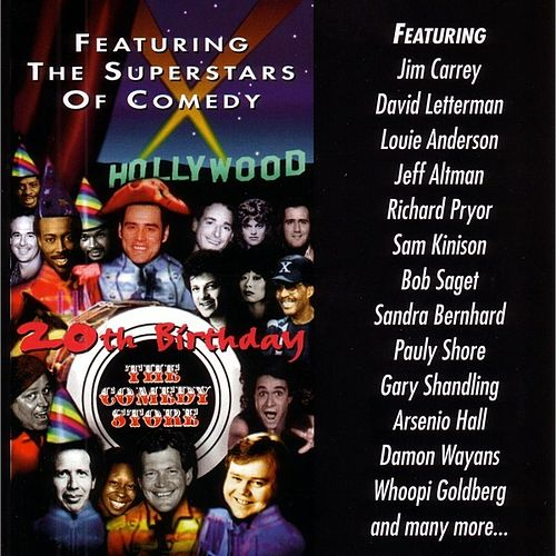 Comedy Store's 20th B-day by Various Artists