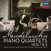 Mendelssohn: Piano Quartets Nos. 1 & 3 di Roberto Prosseda
