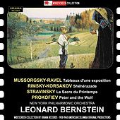 Mussorgsky: Pictures at an Exhibition (Orch. Ravel) - Rimsky-Korsakov: Scheherazade - Stravinsky: Le sacre du printemps - Prokofiev: Peter and the Wolf (Without Narrator) von Various Artists