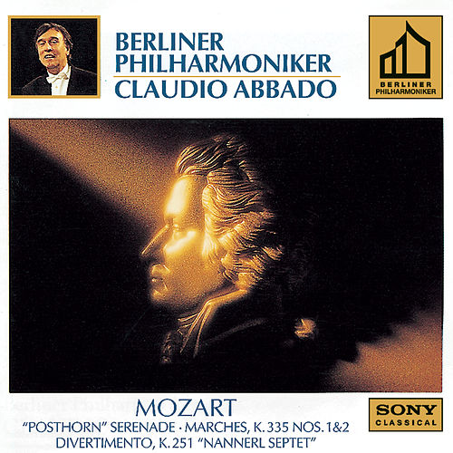 Mozart:  Marches: K. 335, NO. 1 & 2; Serenade K. 320; Divertimento K. 251 by Various Artists