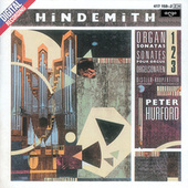 Hindemith: Organ Sonatas by Peter Hurford
