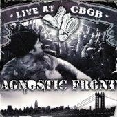 Live at CBGB de Agnostic Front