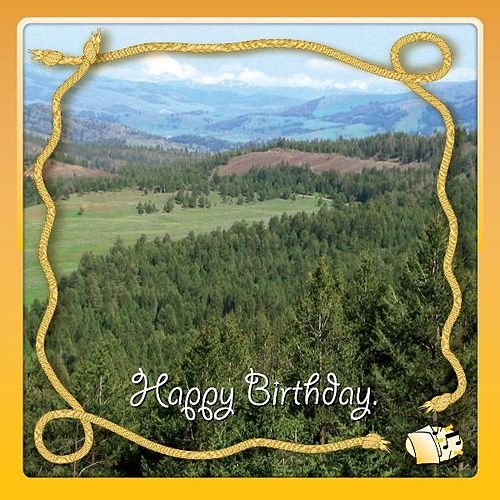 Country Western Birthday Songs By Singing Card