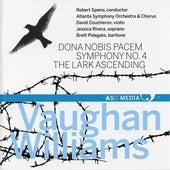 Vaughan Williams: Dona nobis pacem, Symphony No. 4 & The Lark Ascending by Various Artists