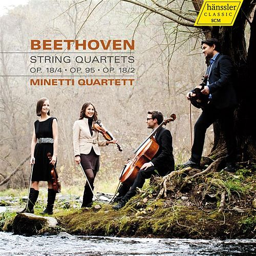Beethoven: String Quartets Nos. 2, 4 & 11 by Minetti Quartet