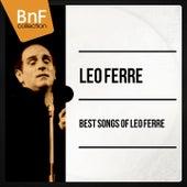 Best Songs of Léo Ferré (Mono Version) de Leo Ferre