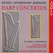 Handel and Others / Harp Concertos by Claudia Antonelli