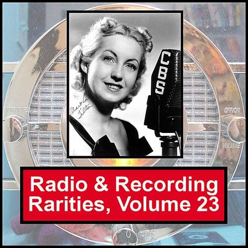 Radio & Recording Rarities, Volume 23 by Martha Tilton