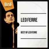 Best of Léo Ferré (Mono Version) de Leo Ferre