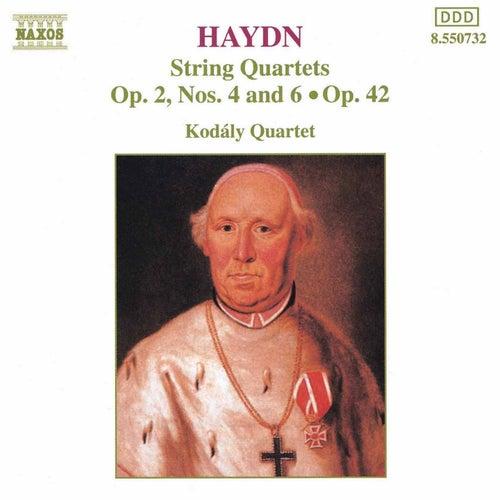 String Quartets Opp. 2 and 42 by Franz Joseph Haydn