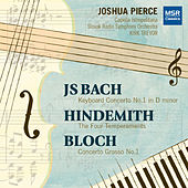 Bach, Bloch and Hindemith: Works for Piano and Orchestra di Joshua Pierce
