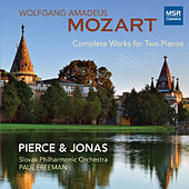 Mozart: Complete Works for Two Pianos de Pierce