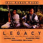 Legacy: 16th-18th Century Music From India by Ali Akbar Khan