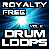 Royalty Free Drum Loops, Vol. 2 by Royalty Free Music Factory