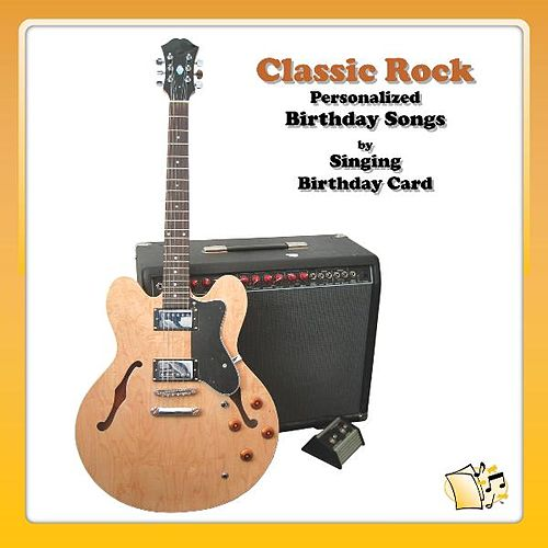 Classic Rock Personalized Birthday Songs By Singing Card