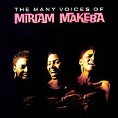 The Many Voices Of by Miriam Makeba