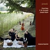 Haas, Korngold & Haydn: String Quartets von Adamas Quartett