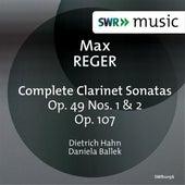 Reger: Complete Clarinet Sonatas by Dietrich Hahn