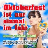 Oktoberfest ist nur einmal im Jahr - Komm scheiss drauf (Wir feiern mit den Party Wiesn Schlager Hits 2014 bis 2015) de Various Artists