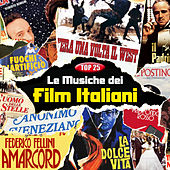TOP 25 - Le musiche dei film Italiani von Various Artists