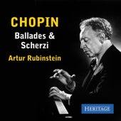 Chopin: Ballades and Scherzi de Artur Rubinstein