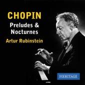 Chopin:  Preludes and Nocturnes de Artur Rubinstein