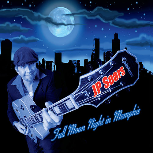 Full Moon Night In Memphis by J. P. Soars