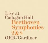 Beethoven: Symphonies Nos. 2 & 8 (Live) von Orchestre Révolutionnaire et Romantique