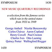 A Selection from the Catalogue of New Music Quarterly Recordings von Various Artists