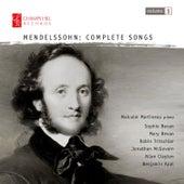 Mendelssohn: Complete Songs, Vol. 1 by Malcolm Martineau