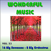 Wonderful Music Vol. 23 16 Big Successes 8 Big Orchestras by Various Artists
