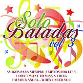 Solo Baladas Vol. 3 by Various Artists