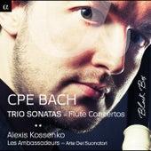 C.P.E. Bach: Trio Sonatas & Flute Concertos by Various Artists
