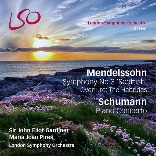 Mendelssohn Symphony No 3 'Scottish', Overture: The Hebrides, & Schumann Piano Concerto by London Symphony Orchestra
