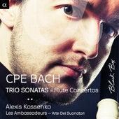 C.P.E. Bach: Trio Sonatas - Flute Concertos von Various Artists