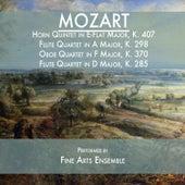 Mozart: Horn Quintet in E-Flat Major, K. 407 / Flute Quartet in A Major, K. 298 / Oboe Quartet in F Major, K. 370 / Flute Quartet in D Major, K. 285 de Various Artists